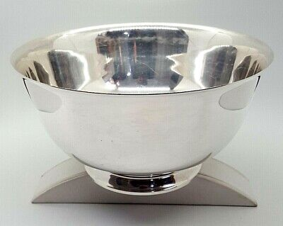 Tiffany And Co Sterling Silver Footed Bowl