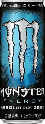 Monster Energy Drink Japan Absolutely Zero non-alcoholic 355ml 1Pc By SAL Free M