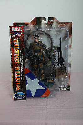 Marvel Select Winter Soldier Figure by Dimond Select Disney Store Exclusive