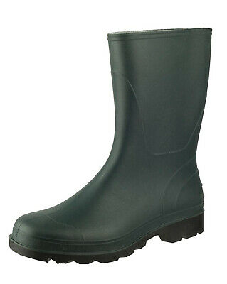 Womens Cotswold Frome Green Ankle Garden Wellies Wellington Calf Rain Boots