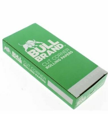 Bull Brand 1 Full Boxes Of Papers Special Offer 50 Booklets 1250 Papers