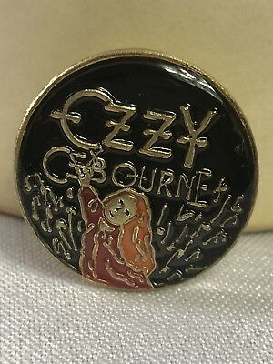 """OZZY OSBOURNE,/""""80/'s/"""" Lot of LOT-3,L@@K! 25 1.25/"""" Round CLASSIC BUTTONS"""