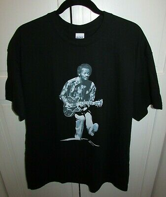 Chuck Berry Black Gildan 100% Cotton T Shirt Mens Size XL