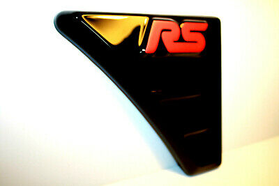 FORD FOCUS MK 2 RS black  Style WING VENTS ABS - PLASTIC NEW! Tuning to FORD