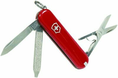 Swiss Army Classic SD Pocket Knife, Victorinox Swiss Army, Red