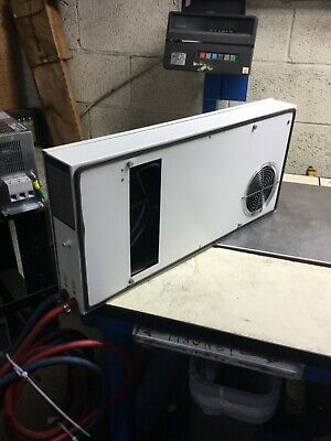 Rittal SK3218.109 Air/Water Heat Exchanger Wall Mounting Unit, 120V, Used