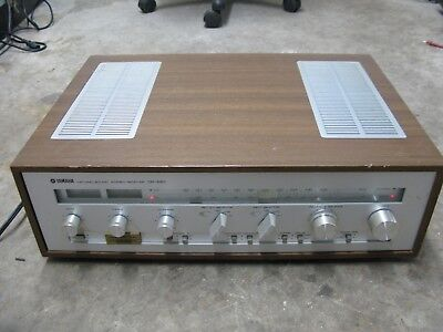 AS-IS Yamaha Model CR-620 AM-FM Stereo Receiver
