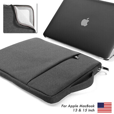 sports shoes e63dc 3e3bb LAPTOP SLEEVE CARRY Bag Case Cover Waterproof For 13 15'' Macbook Air Pro  Retina