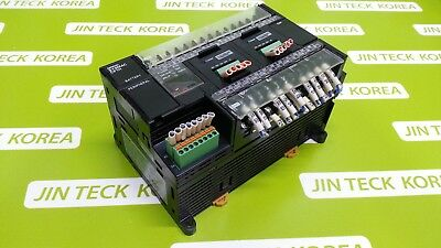 1281) [Used] Omron Plc Cp1H-Xa40Dt1-D / Cp1W-Ext01