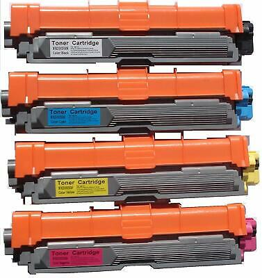 4Pk Non-Oem Toner For Brother Tn221 & Tn225 Hl-3140Cw Hl-3170Cdw Mfc-9130Cw