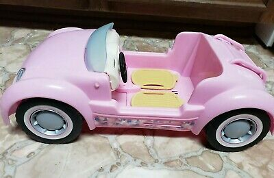 2006 Barbie Beach Glam Convertible Cruiser Car Used Mattel
