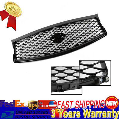 Fits for 2014-2017 Years Infiniti Q50 Front Mesh Upper Grill Replacement SALE!