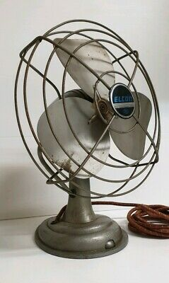 Vintage 'Elcon' Oscillating Fan Retro