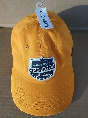best service 143be dcc4a Georgia Tech Yellow Jackets NCAA Adjustable Hat Cap Top of the World OLD  NAVY TW
