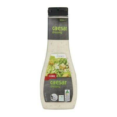 Coles Caesar Dressing 300mL