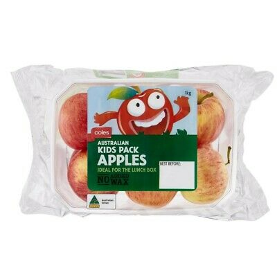 Coles Kids Pack Apples 1kg