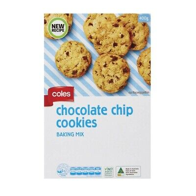 Coles Choc Chip Cookie Mix 400 gram