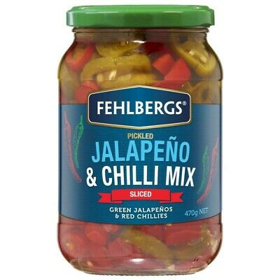 Fehlbergs Jalapeno & Chilli Mix Sliced Pickle 470g