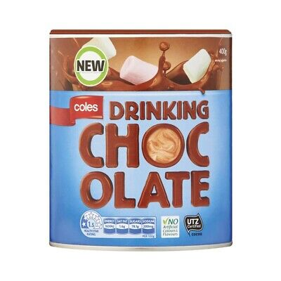 Coles Drinking Chocolate 400g