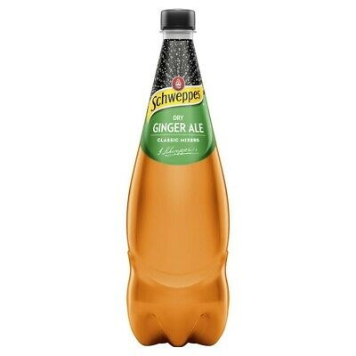 Schweppes Ginger Ale Mixers 1.1 litre