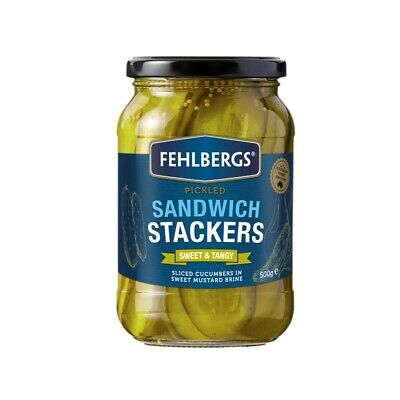 Fehlbergs Sweet And Tangy Sandwich Stackers 500 gram
