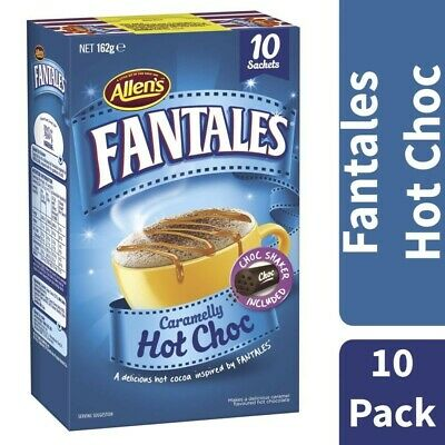 Allen's Caramelly Fantales Hot Chocolate 10 Pack 162g