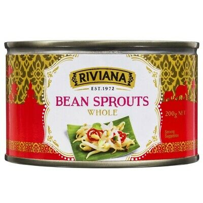 Always Fresh Riviana Bean Sprouts Whole 200g