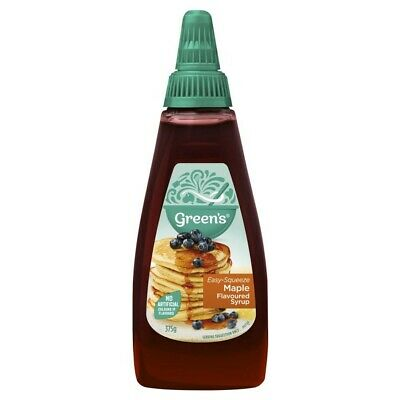 Green's Squeezable Maple Flavoured Syrup 375g