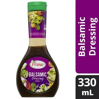 Praise Balsamic Dressing 330mL