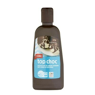 Coles Chocolate Topping 220g