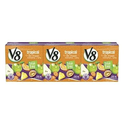 Campbell's V8 Tropical Juice Multipack 250mL 3pk