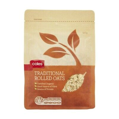 Coles Traditional Rolled Oats  500g