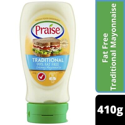 Praise Fat Free Traditional Mayonnaise 410g