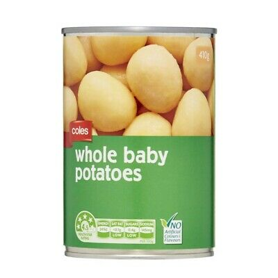 Coles Whole Baby Potatoes  410g