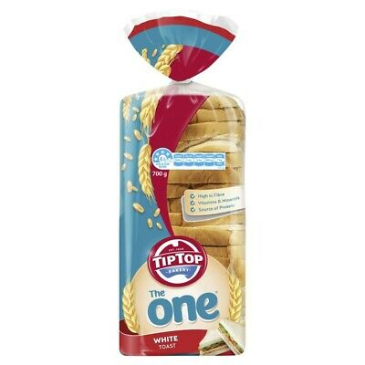 Tip Top The One White Toast Bread 700g