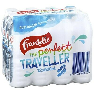 Frantelle The Perfect Traveller Spring Water 600ml 12 pack