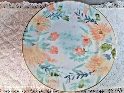 Patina Vie Vintage Meadow Dinner Plate - New with Tag