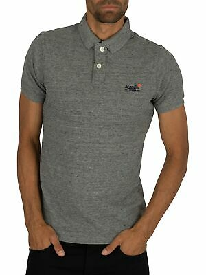 Eclipse Navy, X-Large Superdry Men/'s City Honor Short-Sleeve Pique Polo Shirt
