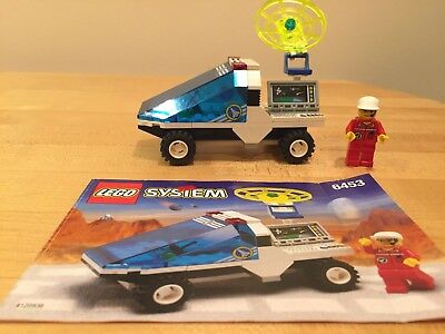 Lego 6453 Town Space Port COM-LINK CRUISER Complete w//Instructions