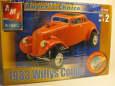 AMT1933 Willys Gasser 5 window Coupe 1/25 scale F/S kit skill 2