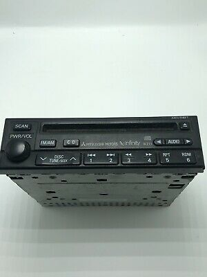Mitsubishi Electronic Car Stock Radio CD Player 34W211 Eclipse