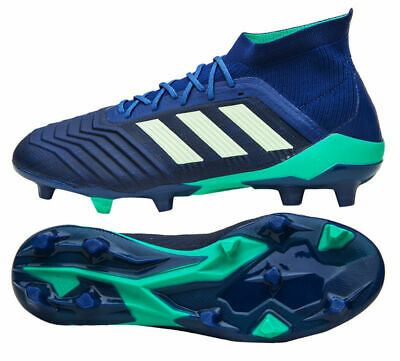 ADIDAS PREDATOR 18.1 FG Leather Men Size 9.5 Soccer Cleats