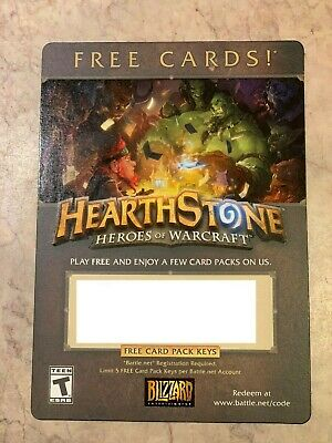 BLIZZARD HEARTHSTONE COLLECTIBLE Coin on Card + Unused Code
