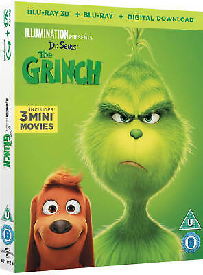 Illumination Pre: Dr. Seuss The Grinch Limi Blu-Ray 3D+Blu-Ray+Digital