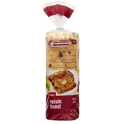 Coles Raisin Toast 560g
