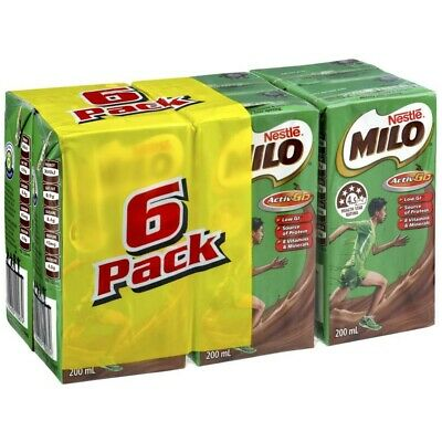 Nestle Milo Ready To Drink Multipack Flavoured Milk 1.2L 6 Pack