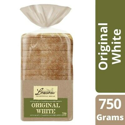 Lawsons Traditional Original White Bread 750 gram