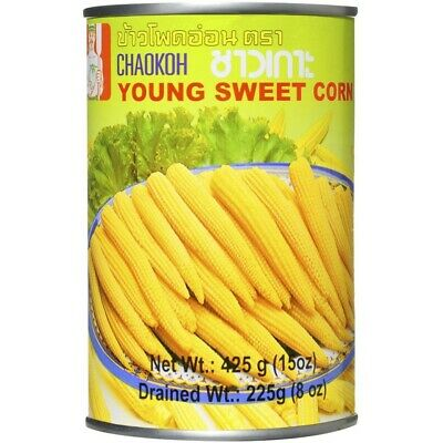 Chaokoh Young Corn 15 Up 425g