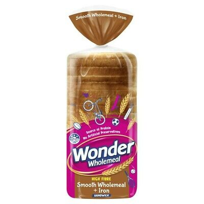 Wonder White Wholemeal Bread Plus Iron 700g