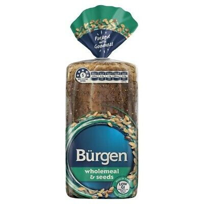 Burgen Wholemeal & Seeds Bread 700g
